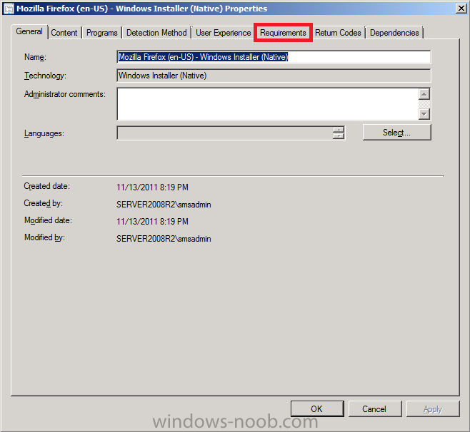sccm 2012 deploy application to user collection