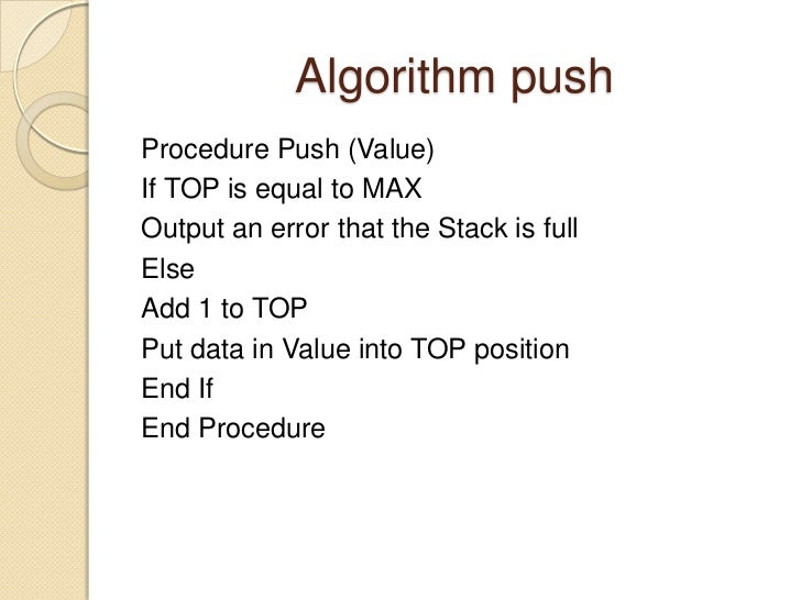 application of stack in data structure pdf