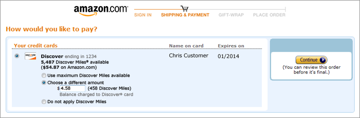 check amazon credit card application