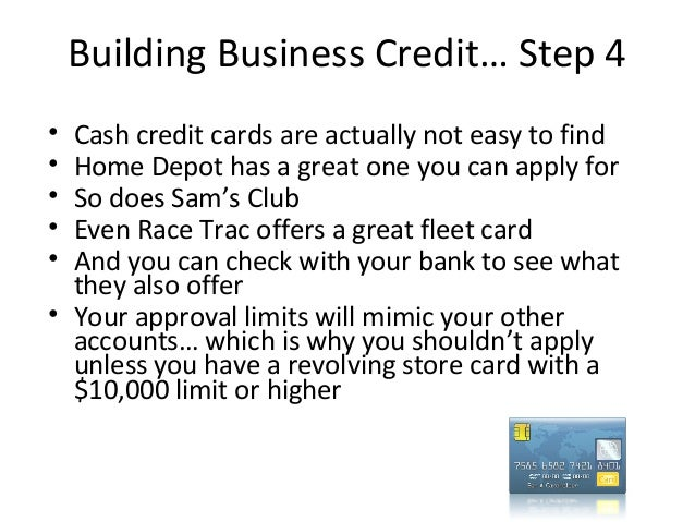 home depot business credit card application
