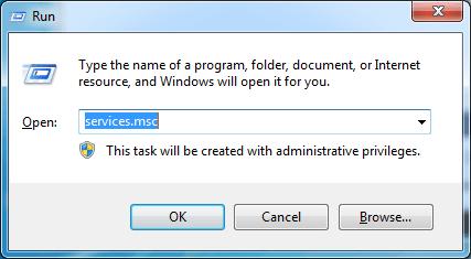 application not found windows 10
