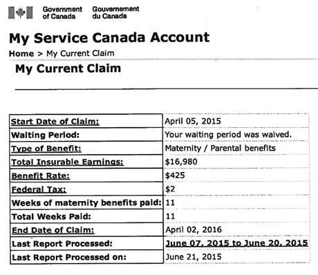 canada pension application information sheet