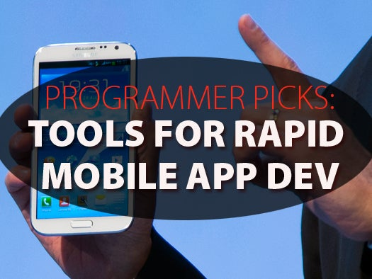 android rapid application development tools