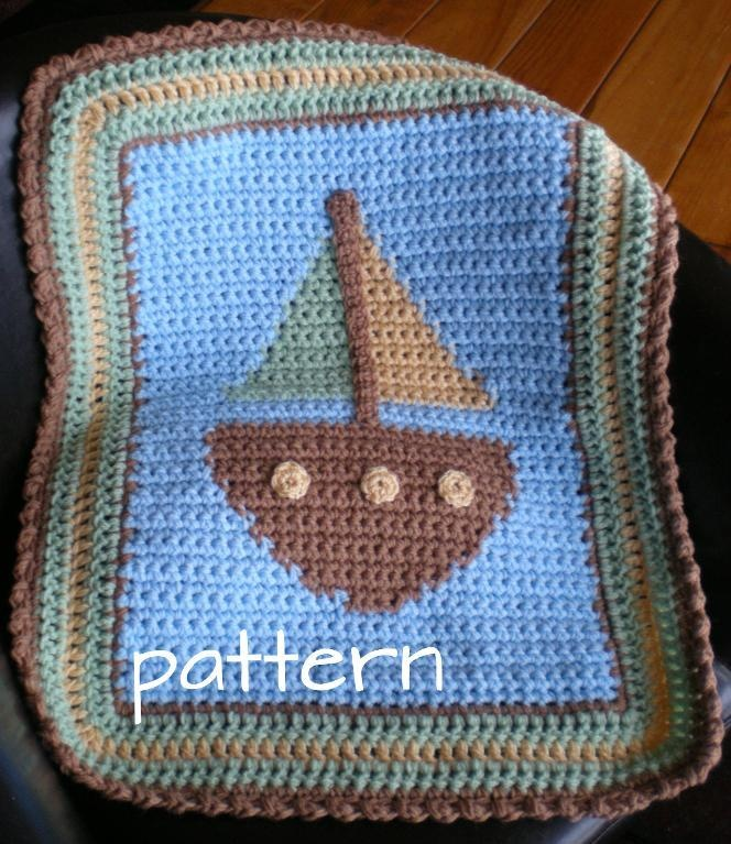 free crochet appliques for baby blankets