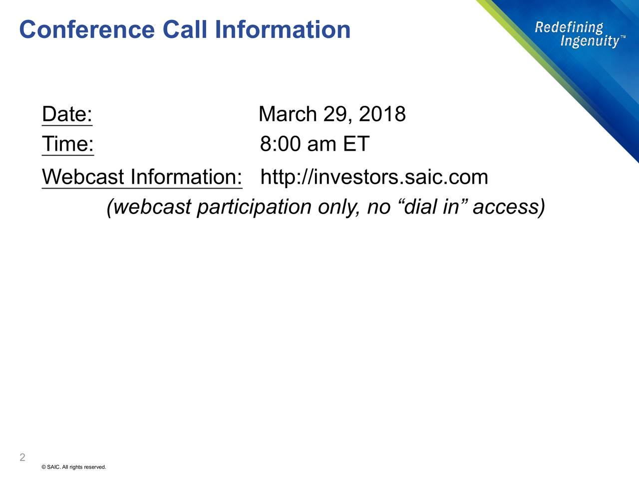 science applications international corporation address
