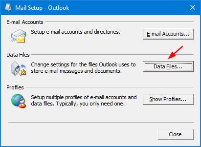 can t find application data folder