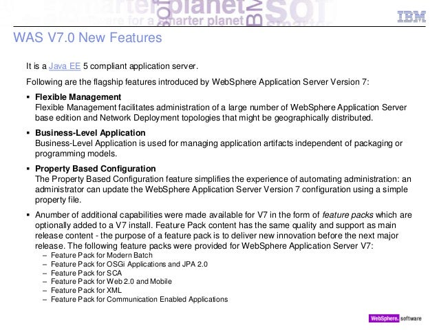 websphere application server latest version