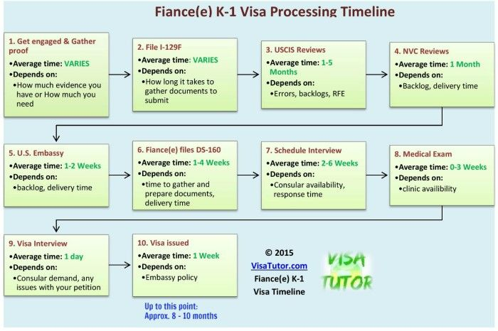 how long does the visa application process take