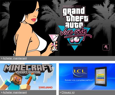 application jeux gratuit pour tablette