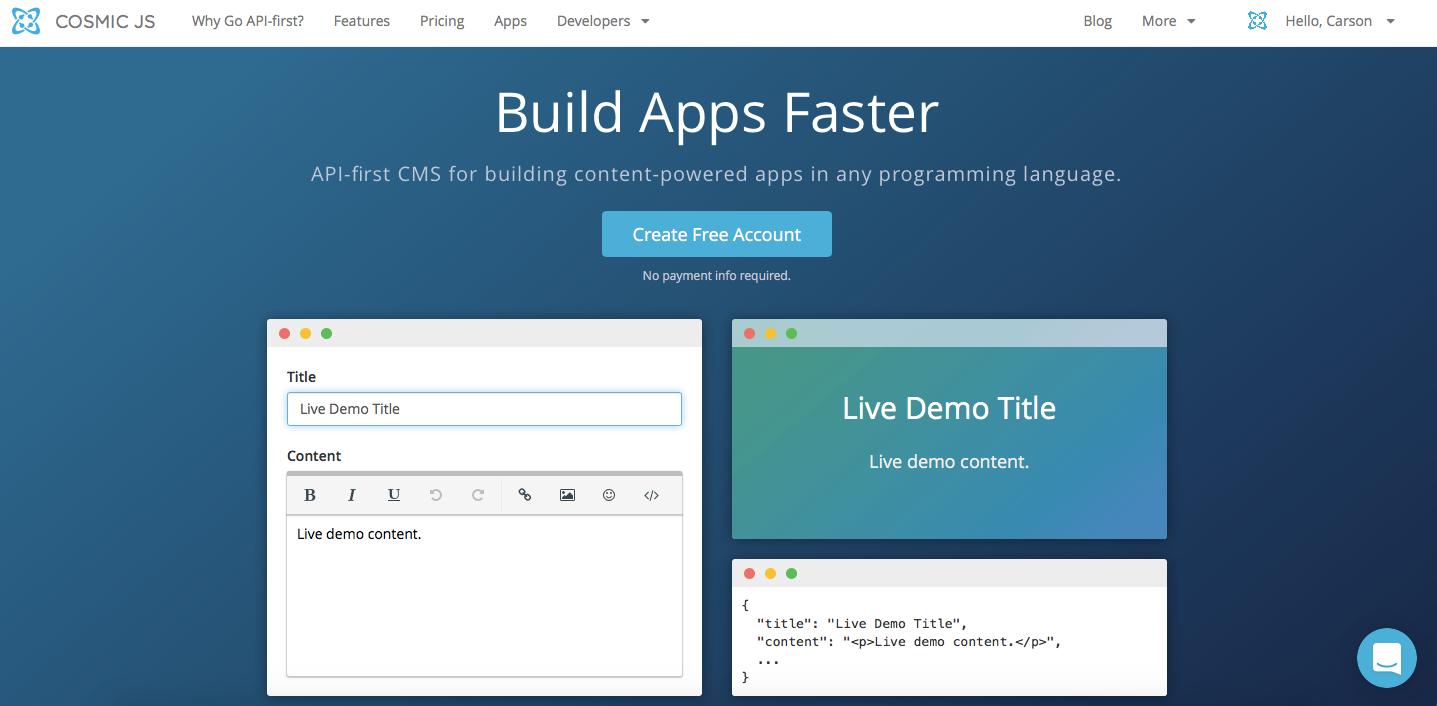 node js for big applications