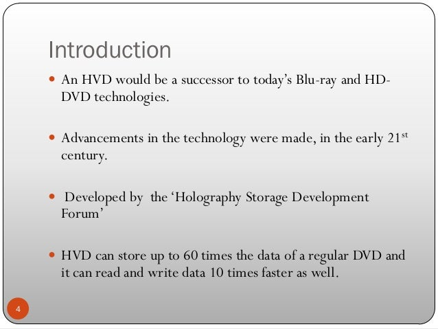 applications of holographic data storage