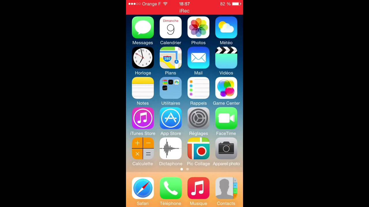 supprimer une application iphone 5