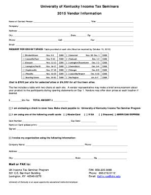 university of kentucky application deadline