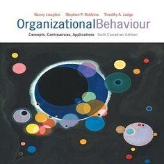 organizational behaviour concepts controversies applications ebook
