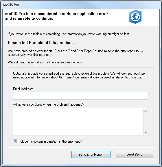 application mobilenavigator exe encountered a serious error