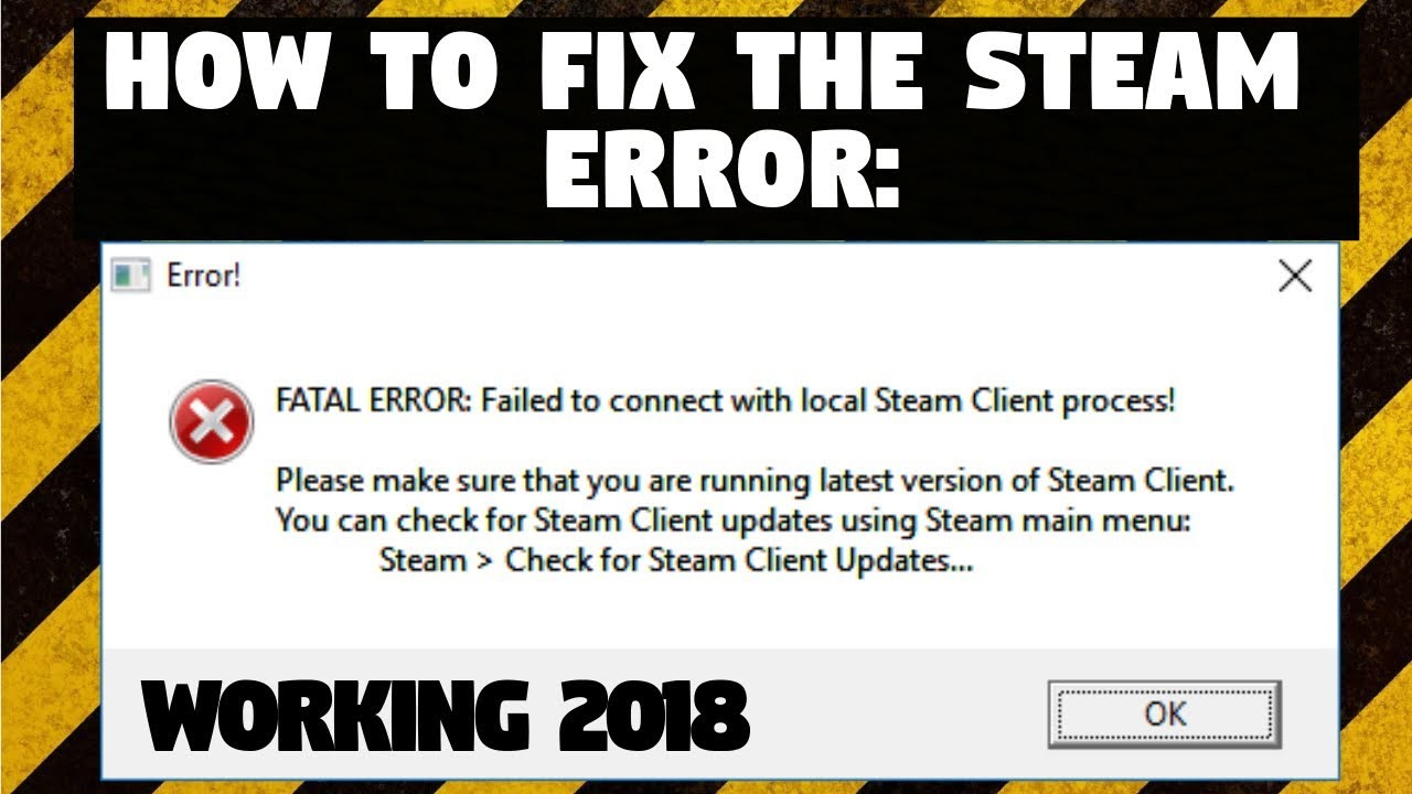 application error failed to find steam