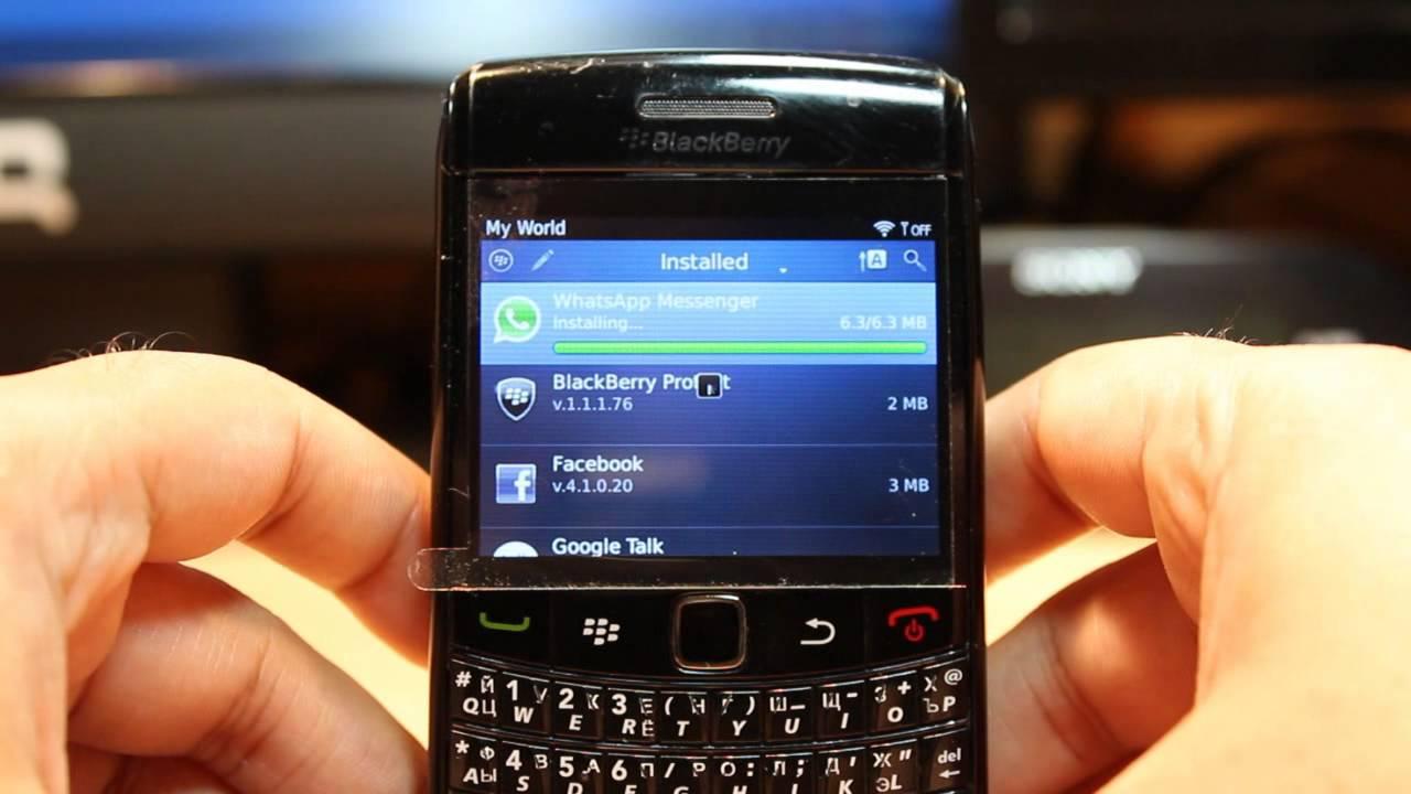 comment telecharger des application blackberry