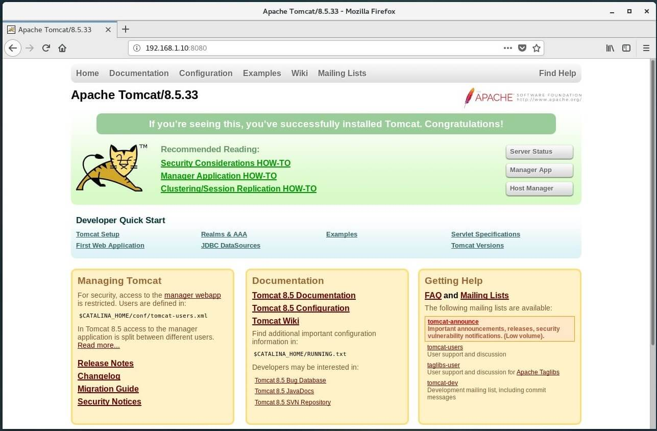 apache tomcat is web server or application