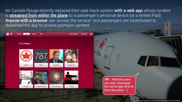application air canada rouge android