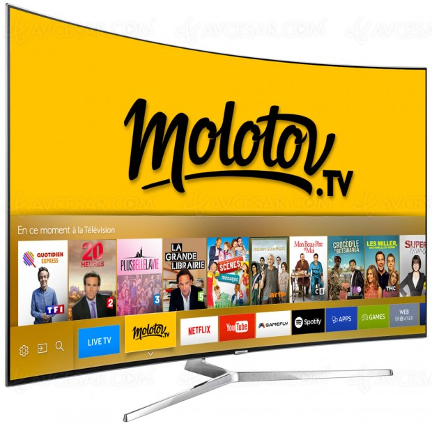 application android telecommande tv samsung