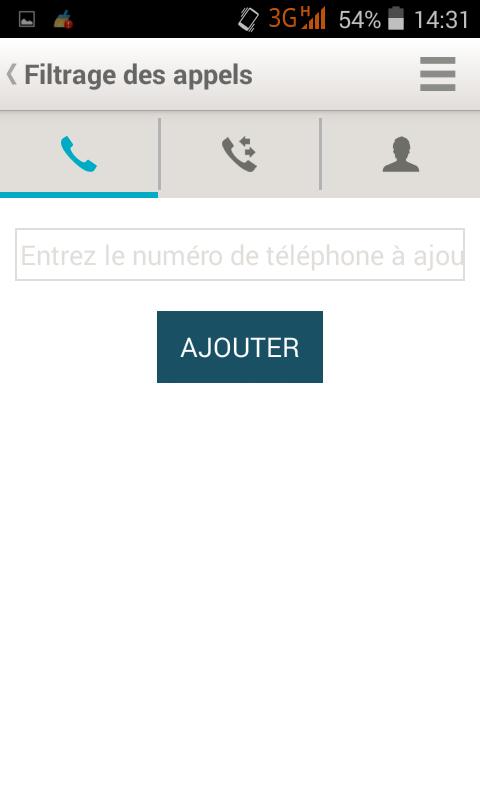 application pour bloquer les sms