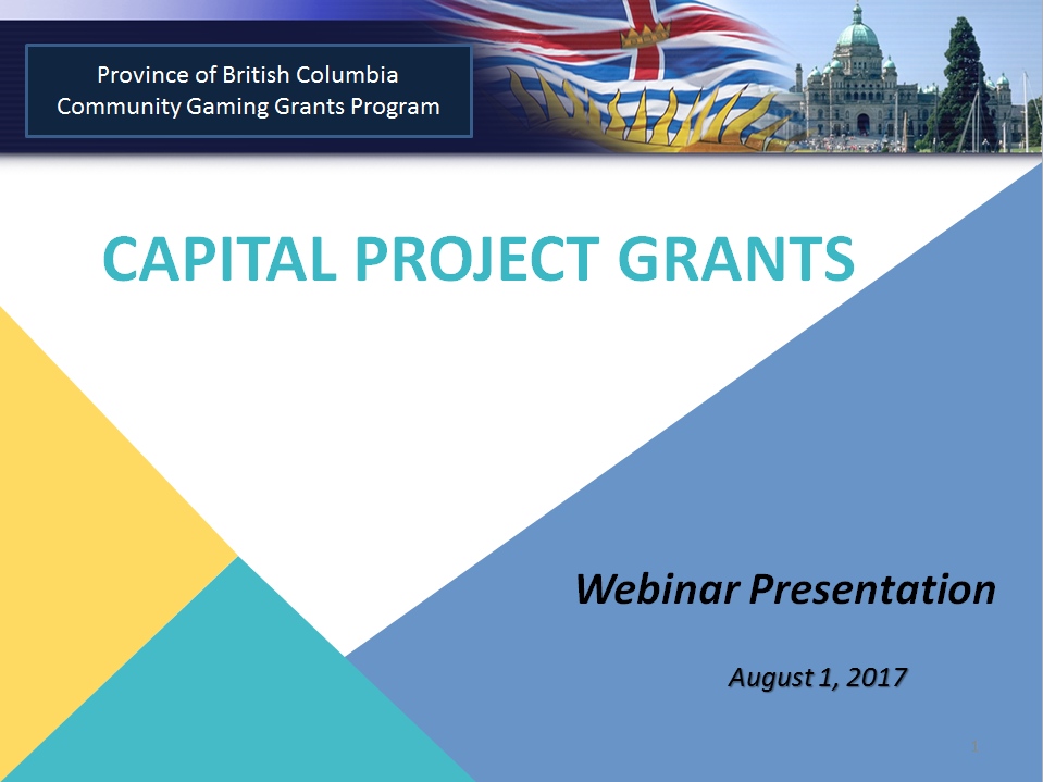 bc gaming grant online application