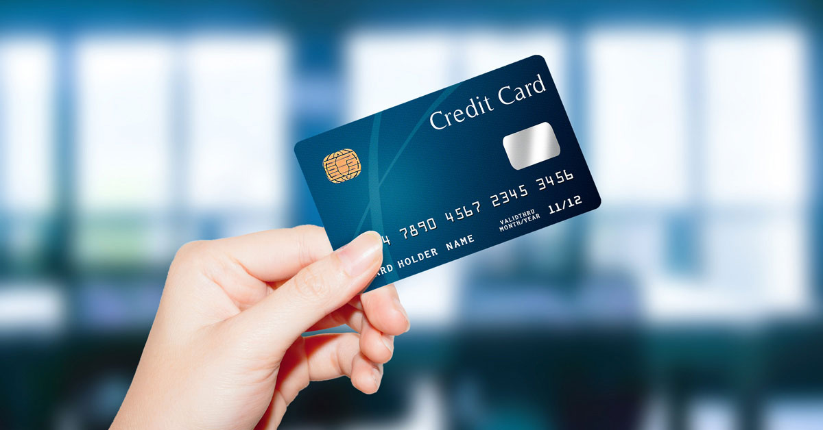 first time credit card application