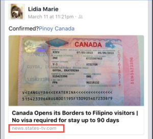 canada visa application center philippines