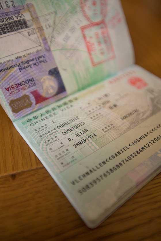 china visa application form india