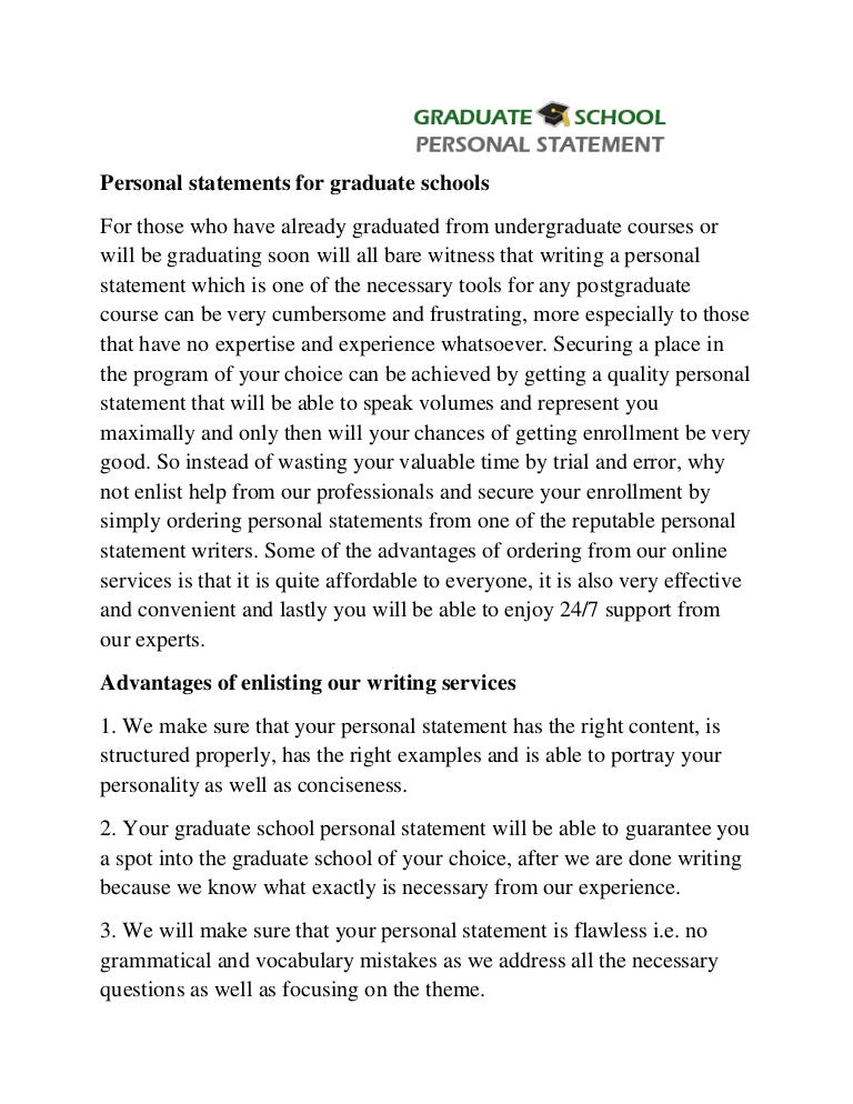 college application statement of purpose