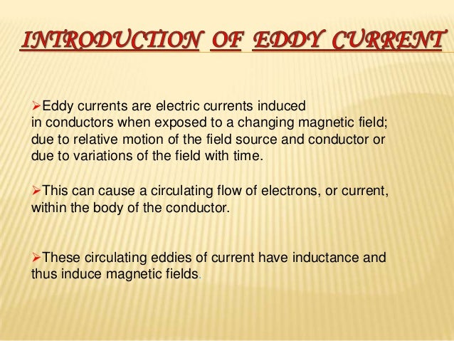 applications of eddy current brakes
