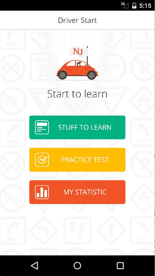 dmv online knowledge test application