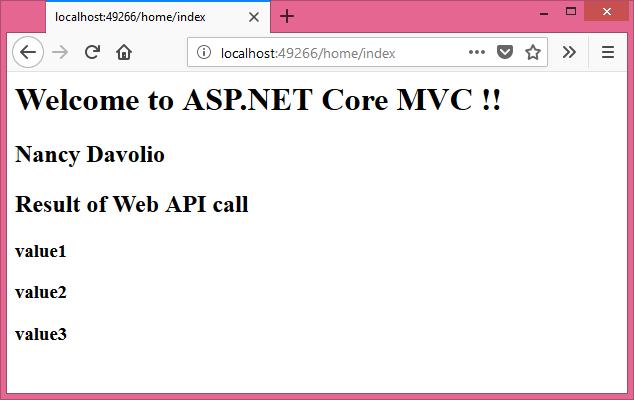 mvc 4 single page application