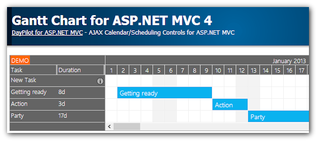 mvc sample application in asp net code project