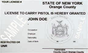 new york state pistol permit application