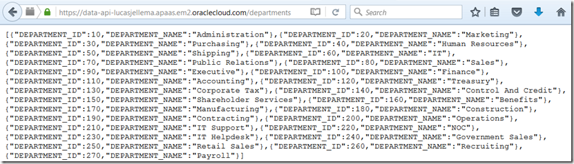 node js express sample application