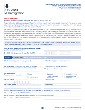 www uk visa application form download